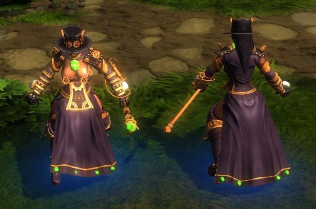альт аватар hon Steampunk Aluna