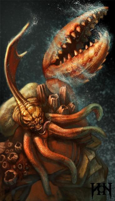 альт аватар hon Crustacean Kraken