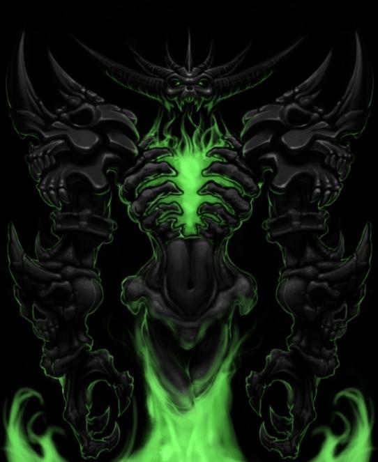 Green Nevermore Soulstealer HoN alt avatar