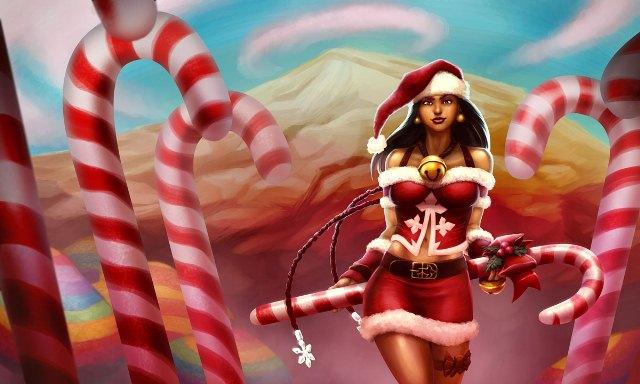 hon альт аватар Santa Baby Aluna
